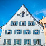 Beautiful colorful houses in Fussen, Bavaria Royalty Free Stock Photo