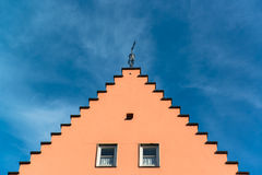 Beautiful colorful houses in Fussen, Bavaria Royalty Free Stock Photos