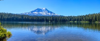 Beautiful Colorful Image of Mount Adams. Amazing Vista of Mt. Adams in Washington State stock image