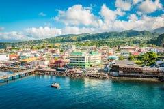 Roseau, Dominica, Caribbean stock photography