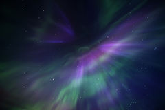 Beautiful and colorful Northern Lights Royalty Free Stock Images