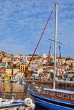 Port of Greece. Beautiful,colorful port of greek island Stock Images