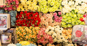 Beautiful colorful roses background Royalty Free Stock Photography