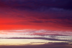 Beautiful colorful sky. Royalty Free Stock Images