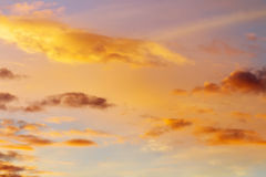 Beautiful colorful sky. Stock Images