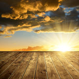 Beautiful colorful sunset Royalty Free Stock Image