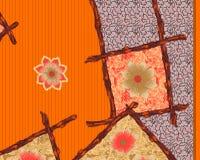 Beautiful colorful textile print design. Textile print design Royalty Free Stock Photo