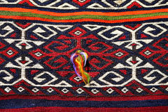 Beautiful colorful Turkish carpets Stock Image