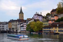 Beautiful colors of Lucerne Stock Photography