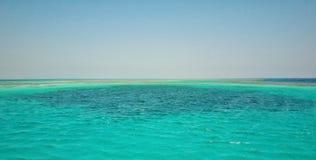 The Red Sea at Hurghada royalty free stock photos