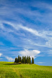 The beautiful colors of the spring in Tuscany Stock Photos