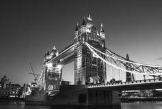 Beautiful colors of Tower Bridge at Dusk - London Stock Photo