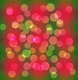 Beautiful colourful abstract circular bokeh background Royalty Free Stock Image