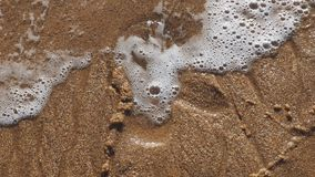The beautiful colours of the sand on a Portuguese beach. Beautiful, landscape stock photography
