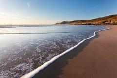 Combesgate Beach Devon Royalty Free Stock Image