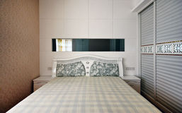 Beautiful and comfortable rooms decorated Royalty Free Stock Photos