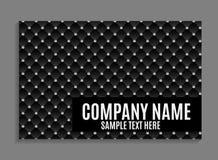 Beautiful Company名片模板 也corel凹道例证向量 免版税库存图片