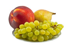 Beautiful composition from fresh fruit Royalty Free Stock Image