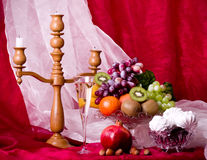 Beautiful composition with fruits Royalty Free Stock Photos