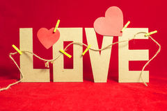 Beautiful composition Valentine's day. Letter love paper, beautiful composition Valentine's day stock photos