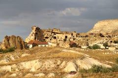 Beautiful cone mountain in Cappadocia Turkey Royalty Free Stock Photo