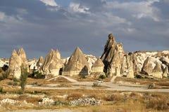 Beautiful cone rock in Cappadocia Turkey Stock Image