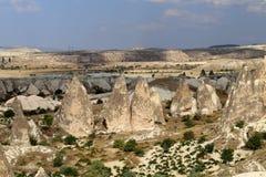 Beautiful cone rock in Cappadocia Turkey Stock Photo