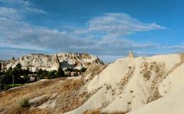 Beautiful cone rock in Cappadocia Turkey Royalty Free Stock Images
