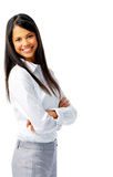 Beautiful confident businesswoman Royalty Free Stock Photography