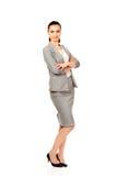 Beautiful confident businesswoman. Stock Image