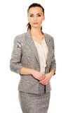 Beautiful confident businesswoman. Royalty Free Stock Image