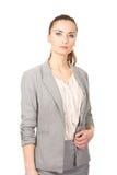Beautiful confident businesswoman. Stock Photography