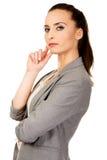 Beautiful confident businesswoman. Stock Images