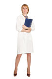 Beautiful confident doctor Stock Images
