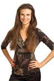 Beautiful, confident girl Stock Photos