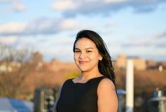 Beautiful confident hispanic businesswoman smiling Royalty Free Stock Photos