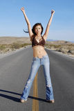 Beautiful confident woman Stock Images