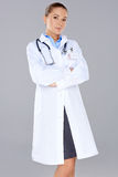 Beautiful confident woman doctor Stock Photography
