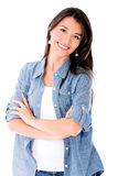 Beautiful confident woman Royalty Free Stock Image