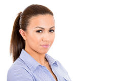 Beautiful, confident young businesswoman Royalty Free Stock Photos