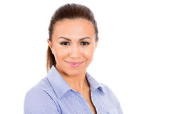 Beautiful, confident young businesswoman Stock Photography