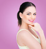 Beautiful confident young woman Royalty Free Stock Photography
