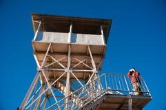 Beautiful construction and landmark at Poonhill Royalty Free Stock Photo