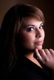 Beautiful Contemplative Woman Stock Image