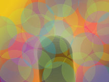 Beautiful Contemporary Web Background Red Blue Yellow Design Royalty Free Stock Image