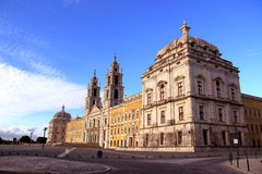 Convent Mafra. Ancient and historical Convent of mafra in portugal Stock Images