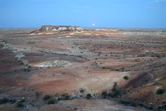 Beautiful Coober pedy Royalty Free Stock Photos
