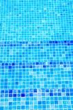 Beautiful cool water in swimming pool Stock Image