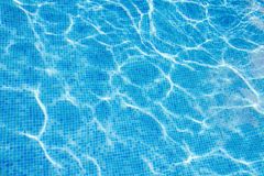 Beautiful cool water in swimming pool Royalty Free Stock Photos