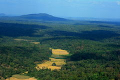 Beautiful Coorg landscape Stock Images